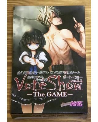 正体隠匿系ロールプレイング脱出投票ゲーム『VOTE SHOW ザ・ゲーム』