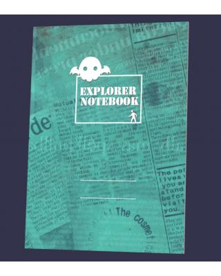 【C93新刊】クトゥルフ神話TRPGサポートグッズ『探索者ノート』