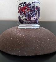 【C97新作】『鵺鏡アクリルコマ』土蜘蛛